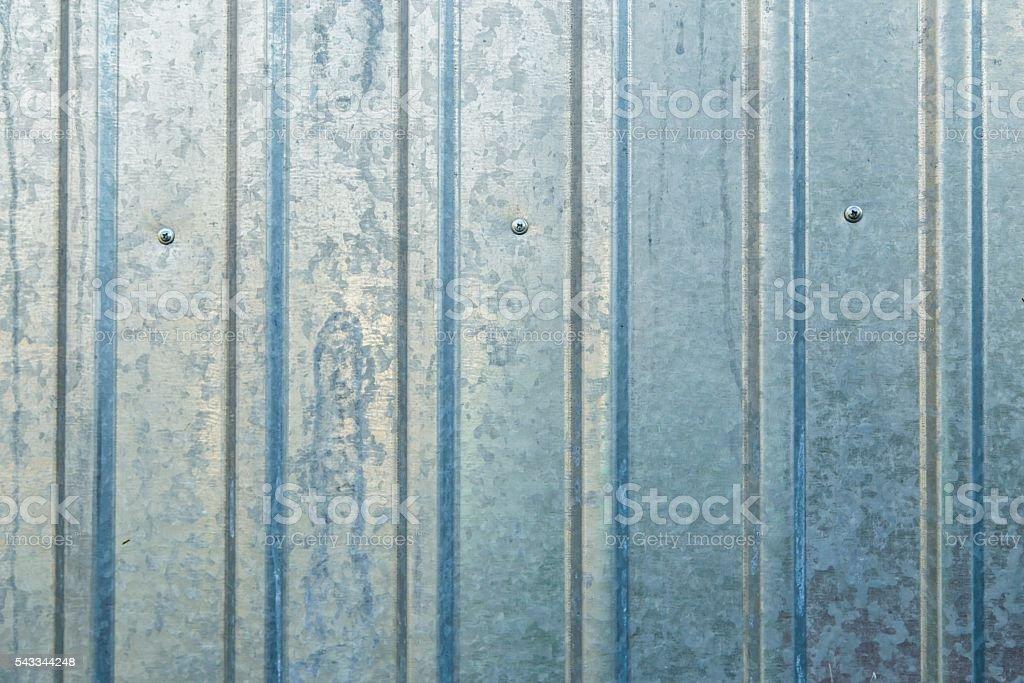 Old galvanized sheet, background stock photo