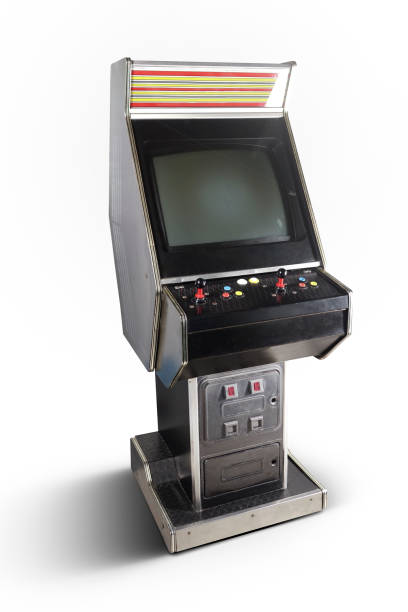 Old Game Arcade - foto stock