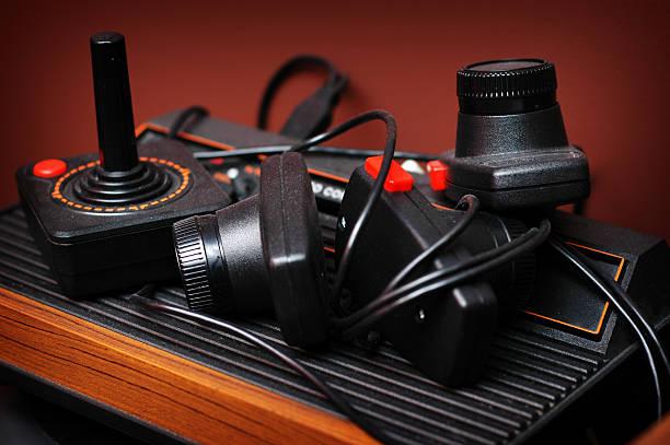 old-system - spielesammlung stock-fotos und bilder