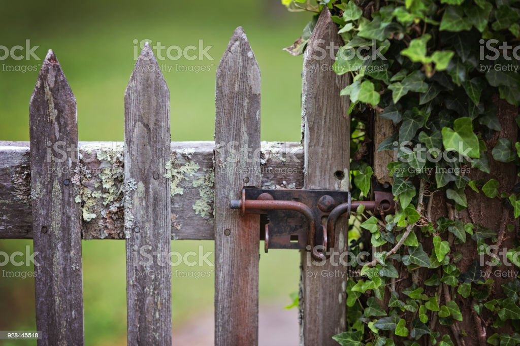 Old Garden Gate Royalty Free Stock Photo