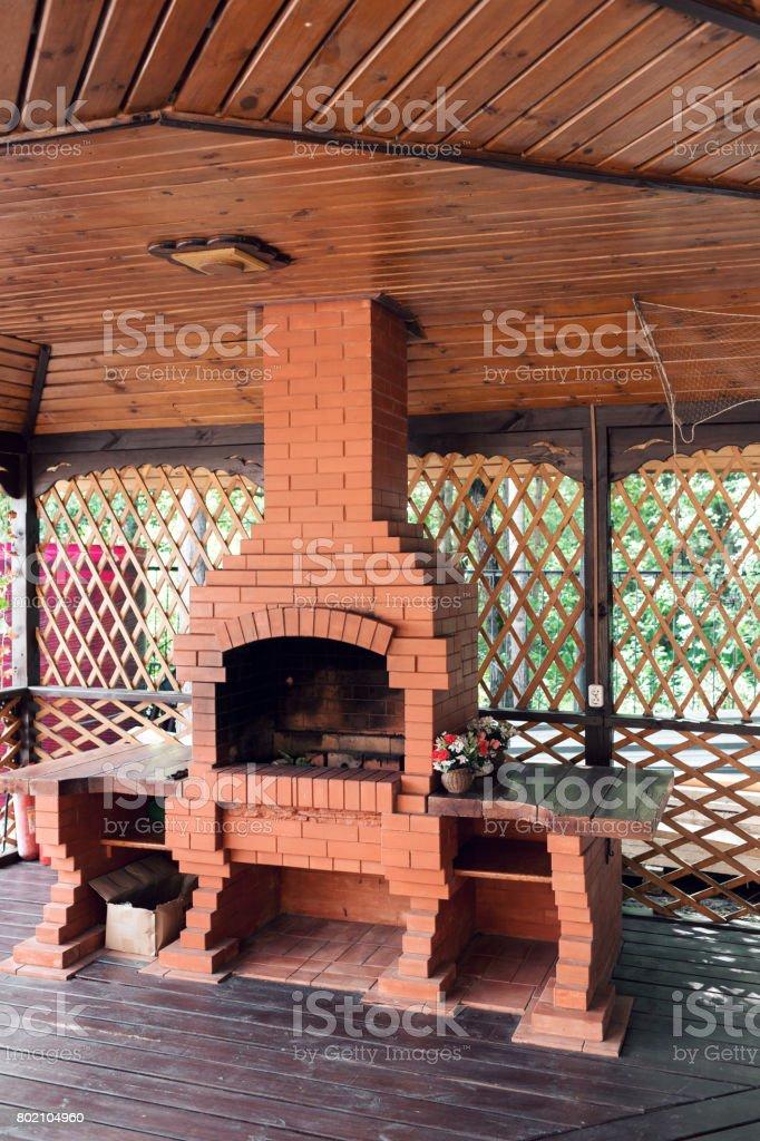 Alte Garten Heizung Verwendbar Für Bbq Grill Stockfoto Und Mehr