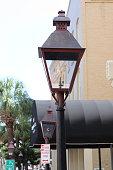 South Carolina old gas light lamp
