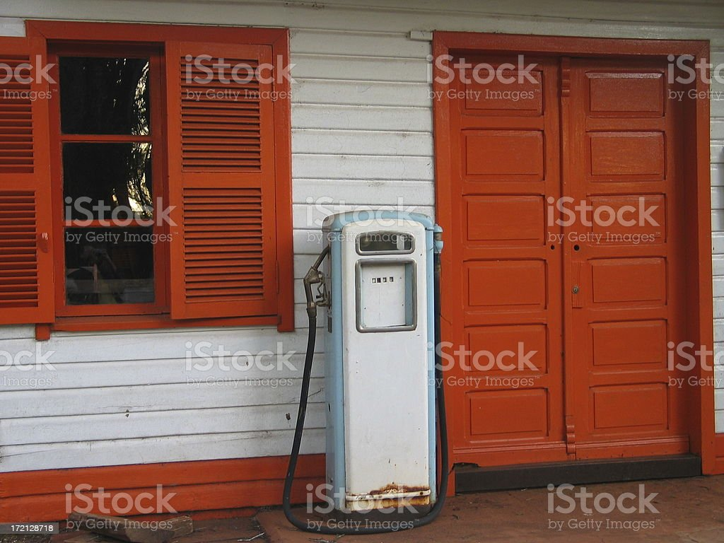 Old Gas Pump Stock Photo & More Pictures of Antique - iStock