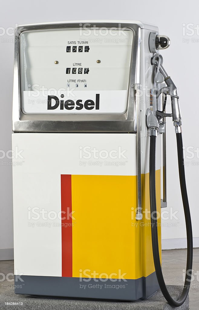 Old Gas Pump royalty-free stock photo
