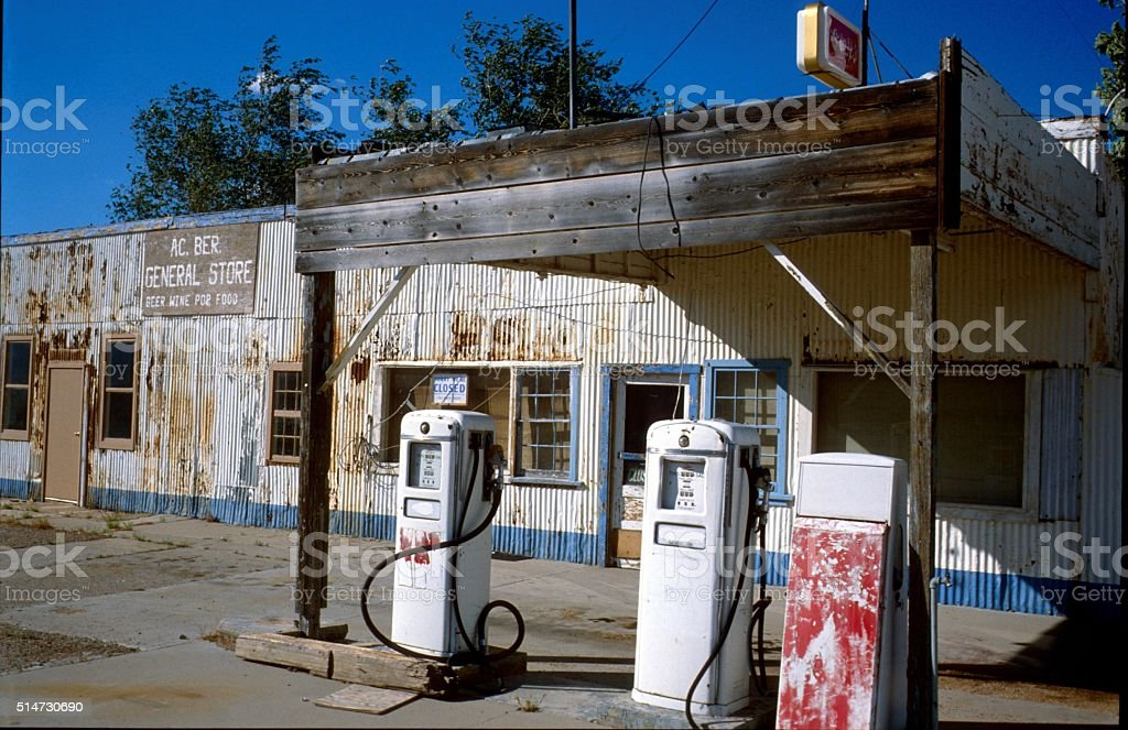 Old Gas Station Arizona Stock Photo Download Image Now Istock