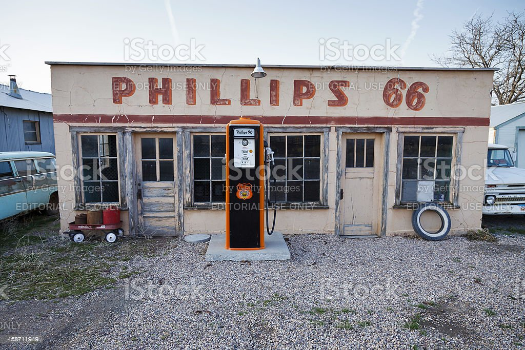 Old Gas Station Stock Photo Download Image Now Istock