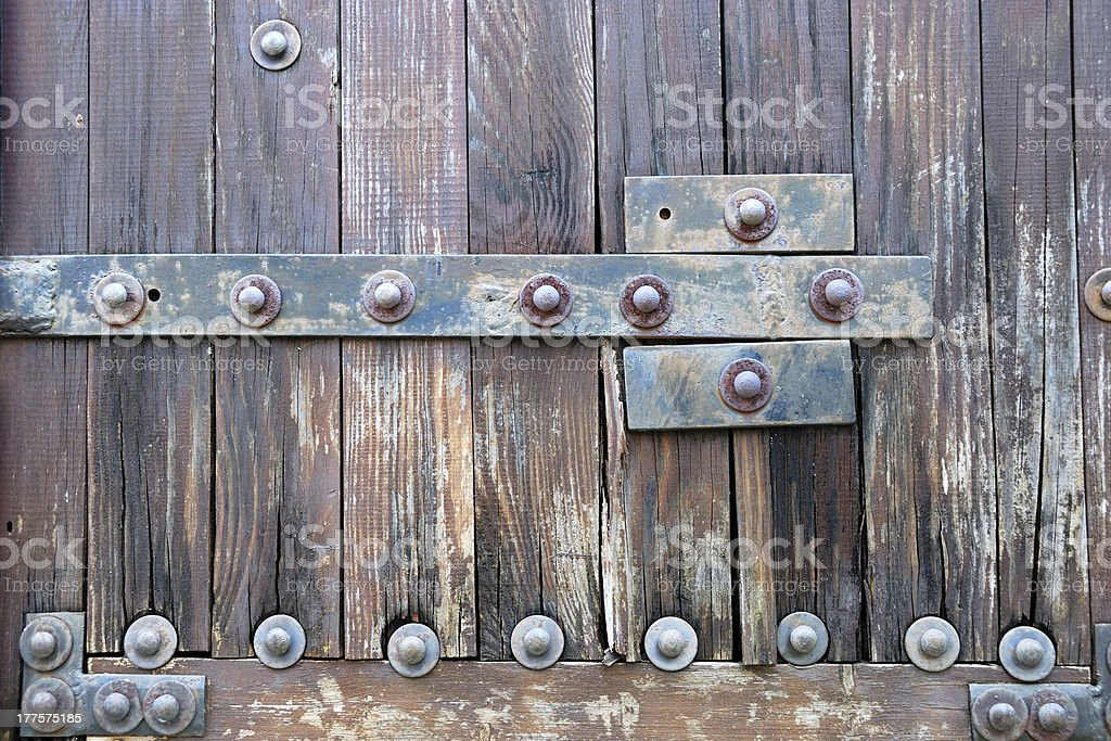 Old gate royalty-free stock photo
