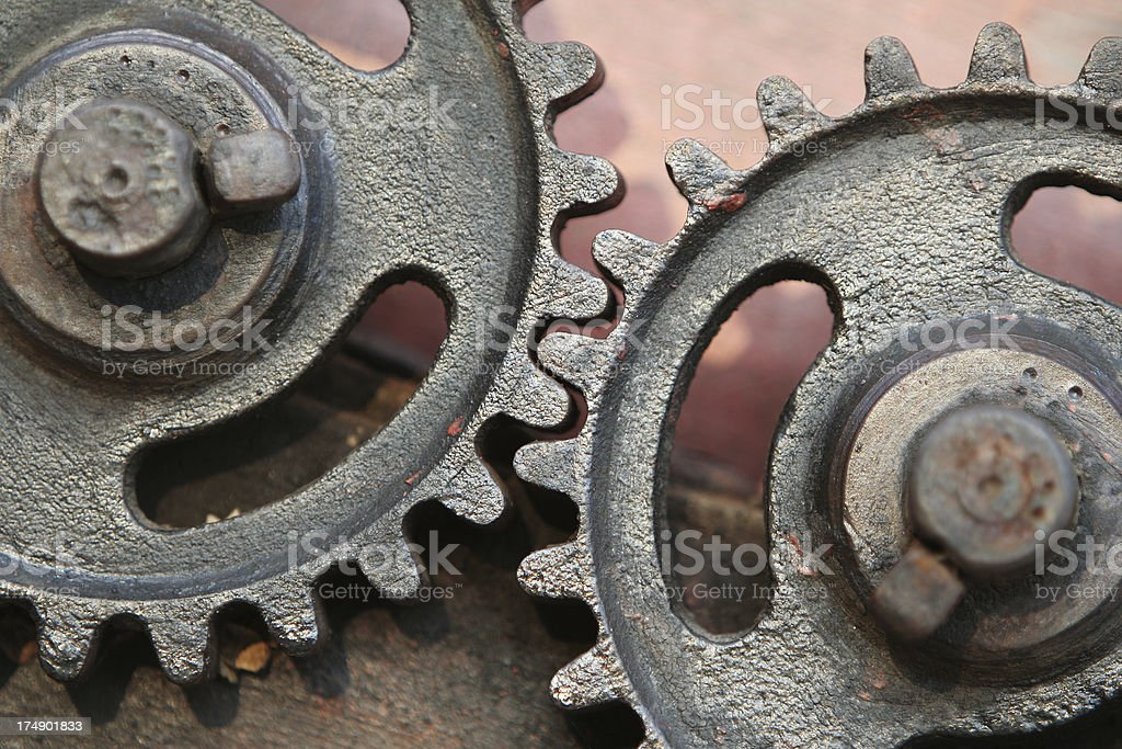 Old Gears royalty-free stock photo