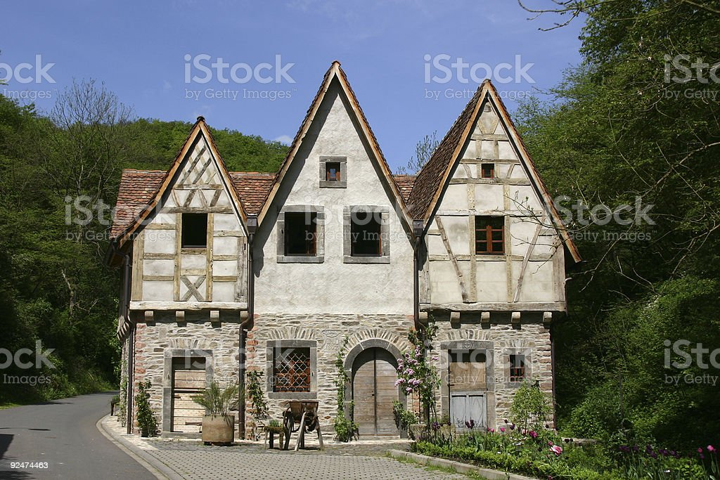 Old German House royalty-free stock photo