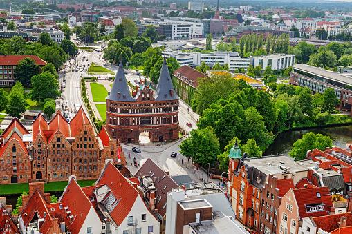 Old German town of Lubeck