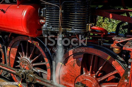 istock old German Train 1294131895