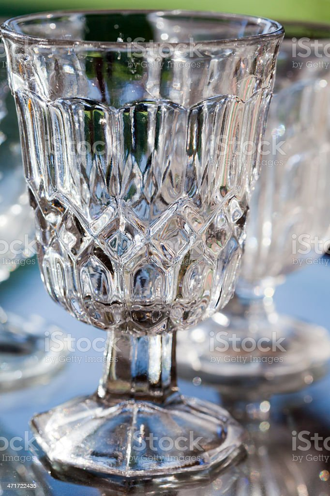 Old glass royalty-free stock photo