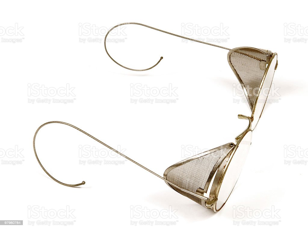 old glasses royalty-free stock photo