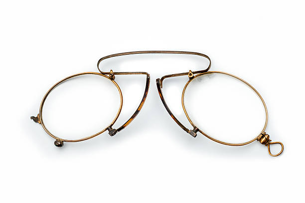 old glasses:  pince-nez or lorgnet - Photo