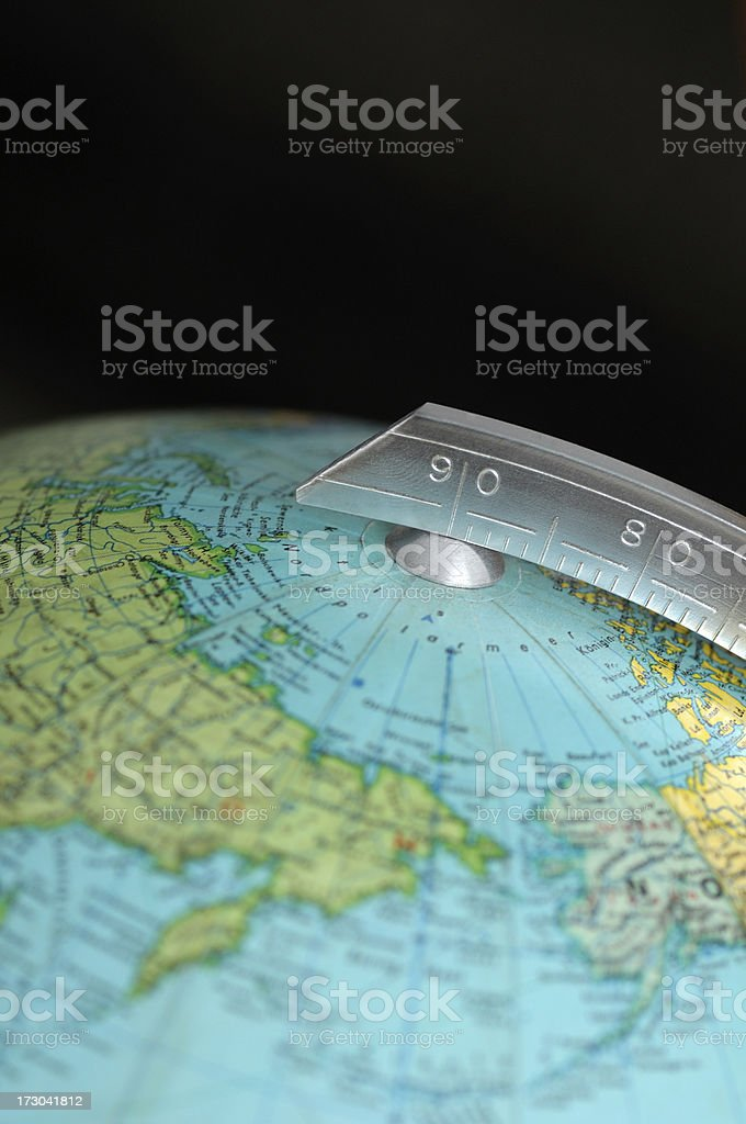 Old Globe Detail royalty-free stock photo