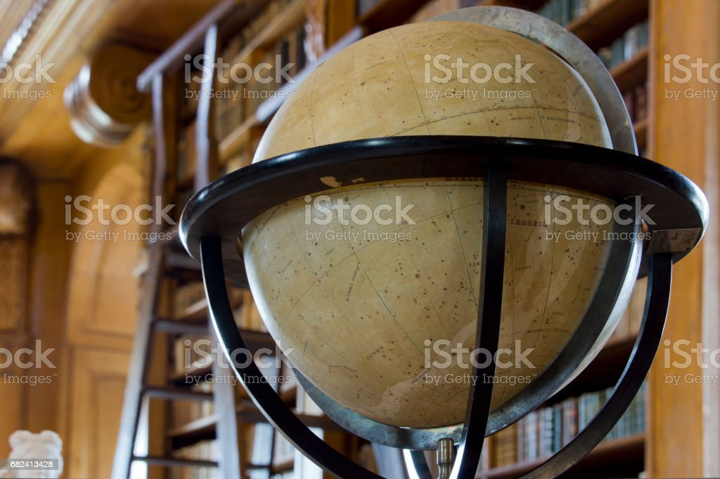 Old globe royalty-free stock photo