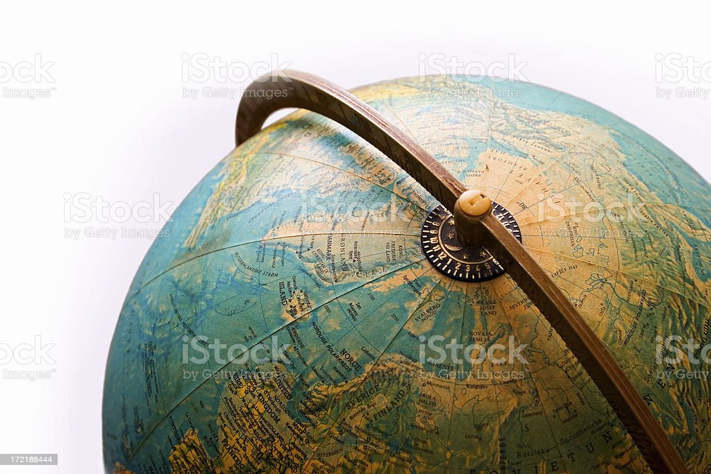 bf8cce32a27e Old Globe Top Of The World Stock Photo   More Pictures of Asia