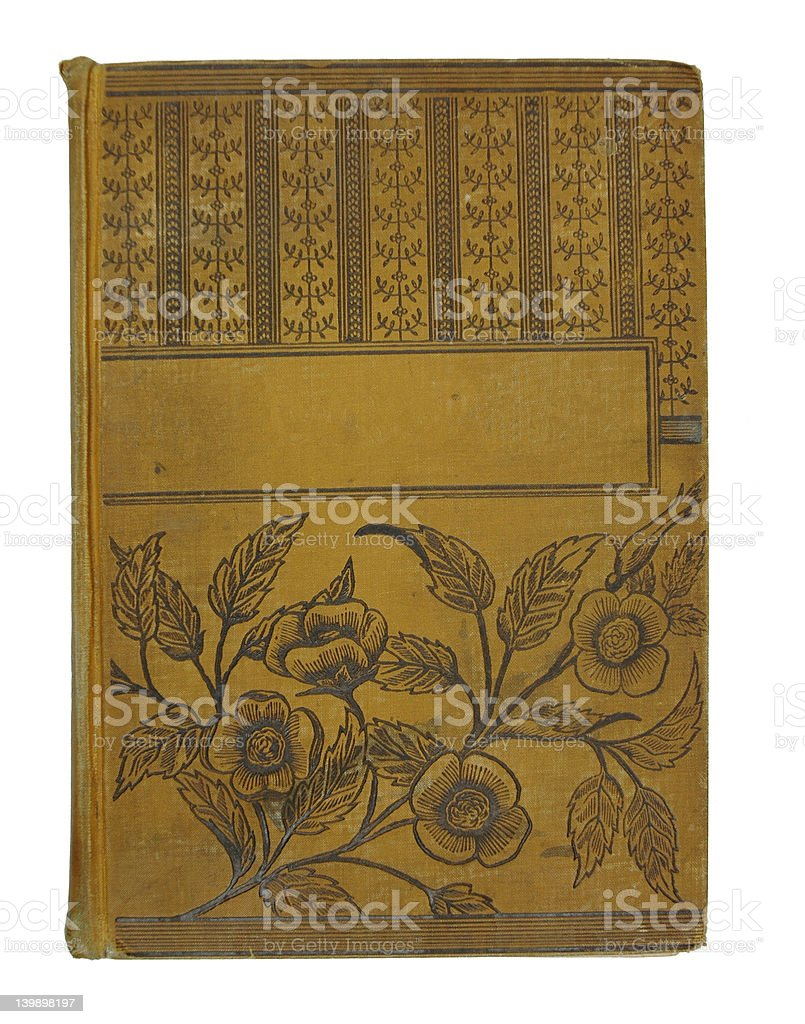 Old Golden Book royalty-free stock photo