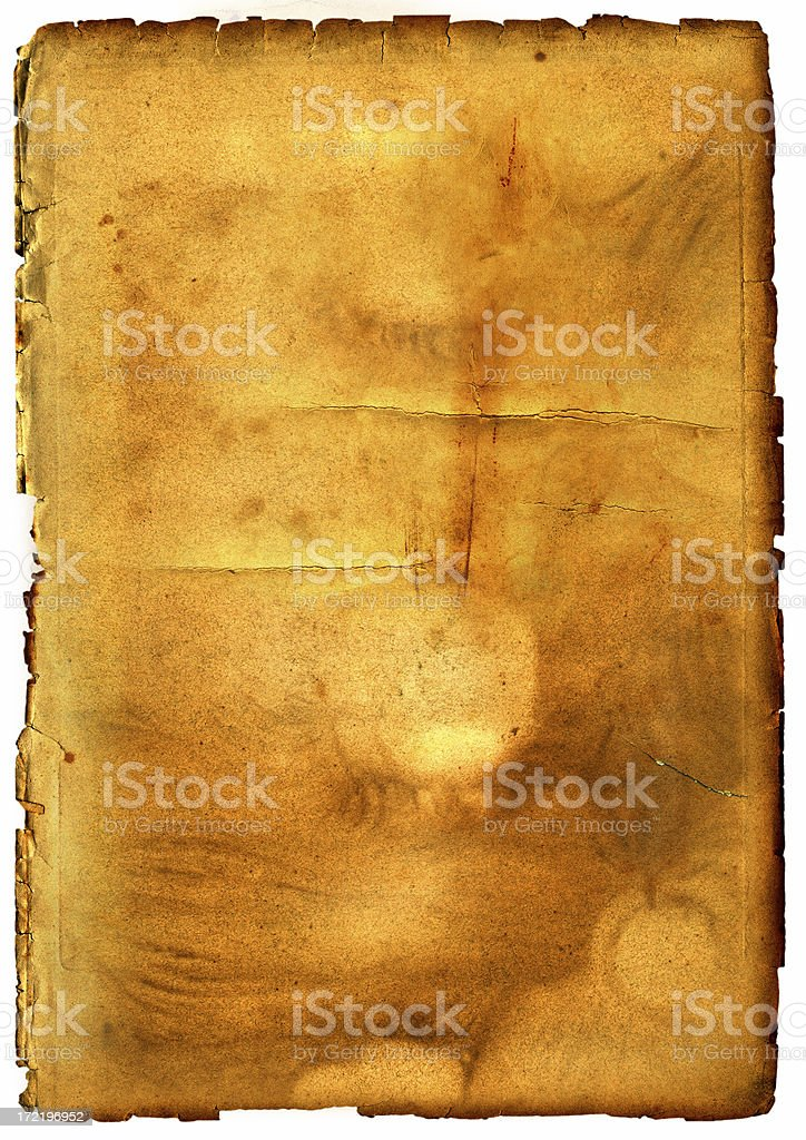 old golden paper texture royalty-free stock photo
