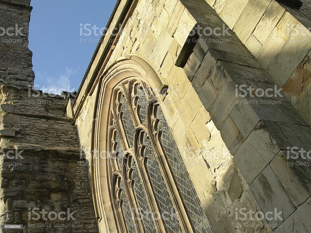 Old Gothic Church stock photo