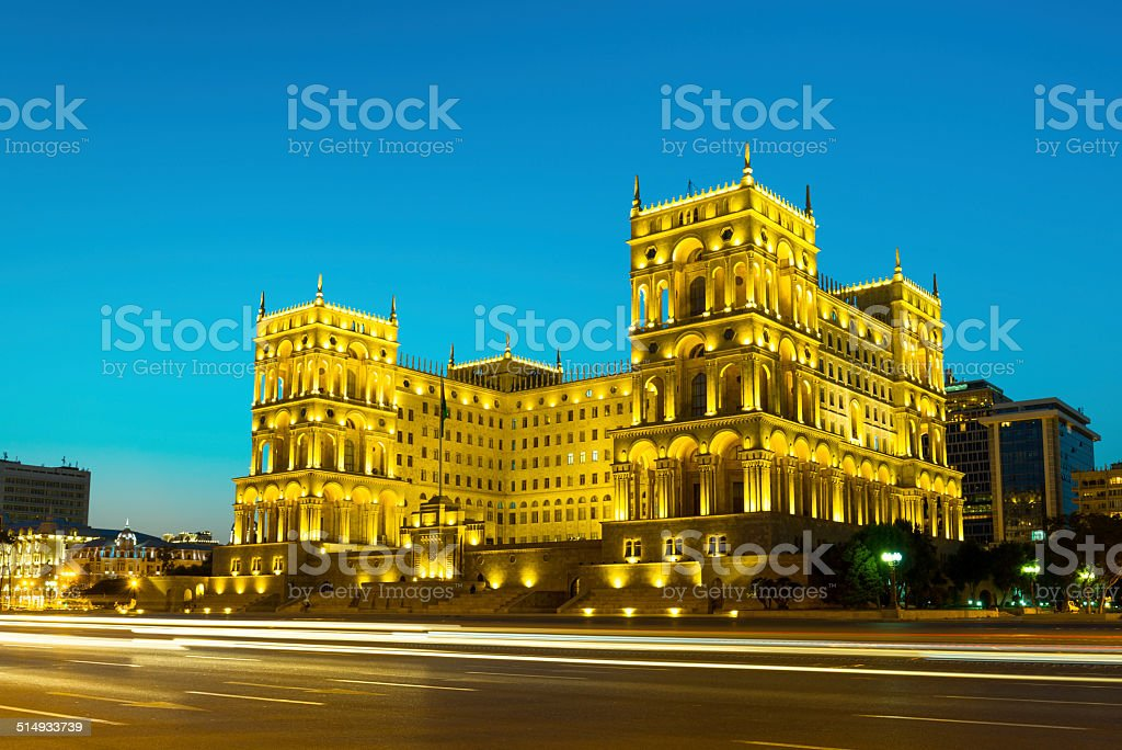 Old Goverment House stock photo