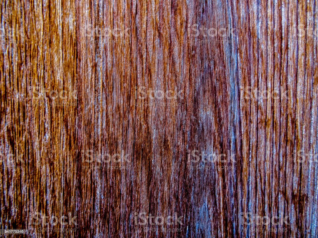 Old grained and worn wood stock photo