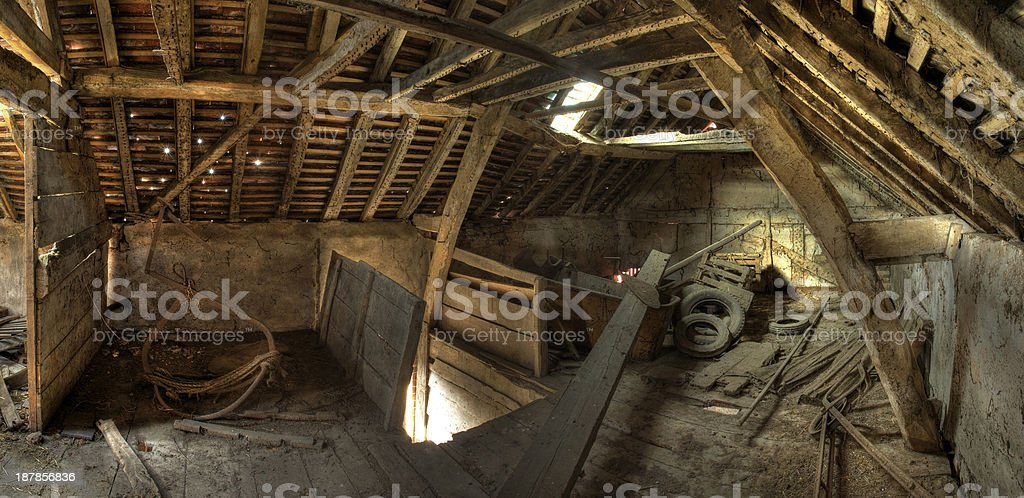 Old granary, England stock photo