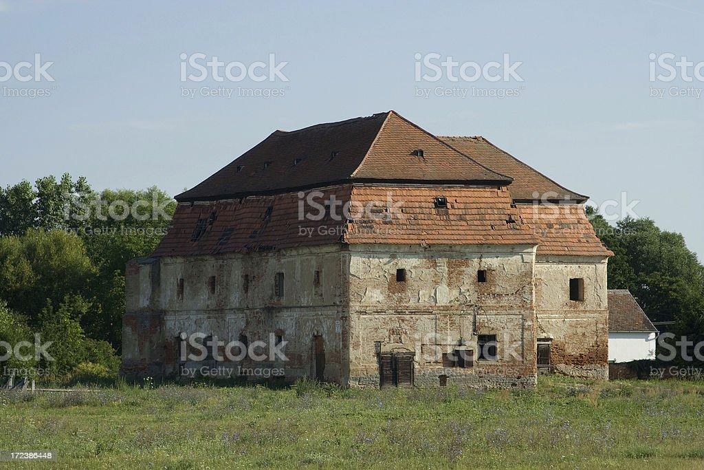 Old granary royalty-free stock photo