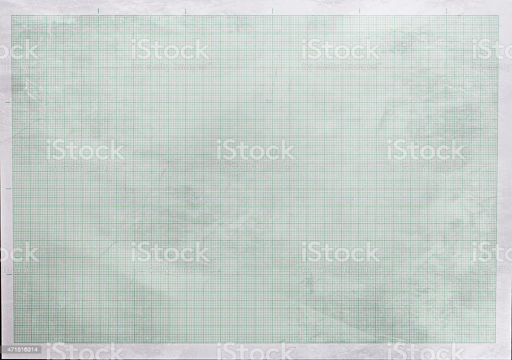 Old graph paper texture stock photo