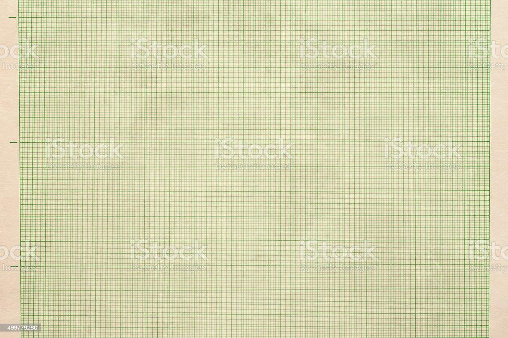 Stary Papier milimetrowy Tekstura – zdjęcie