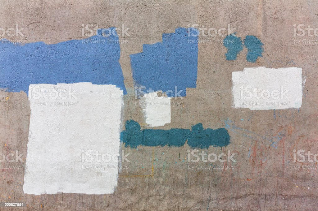 Old gray painted wall stock photo