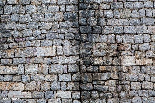 973649382istockphoto old gray wall 868278686