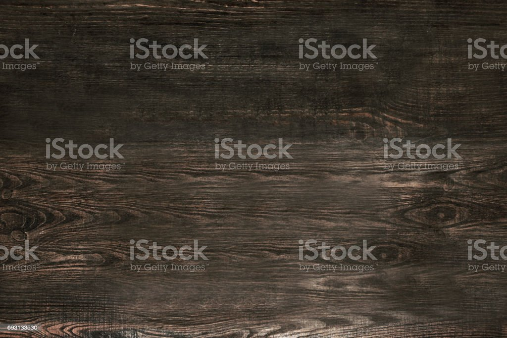 Old gray wooden background top view stock photo