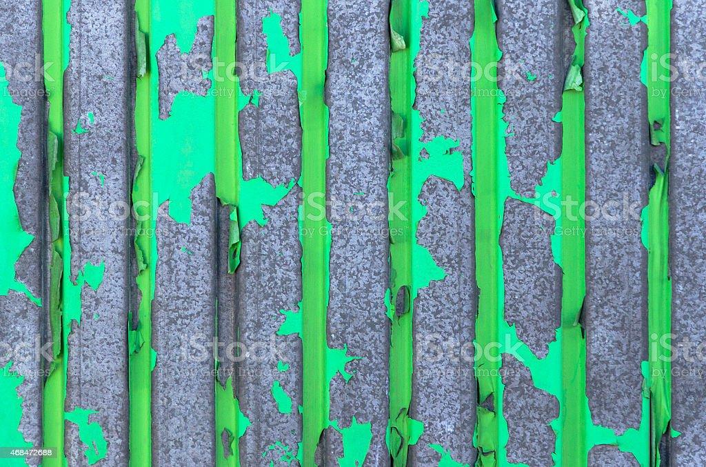 old green iron wall stock photo