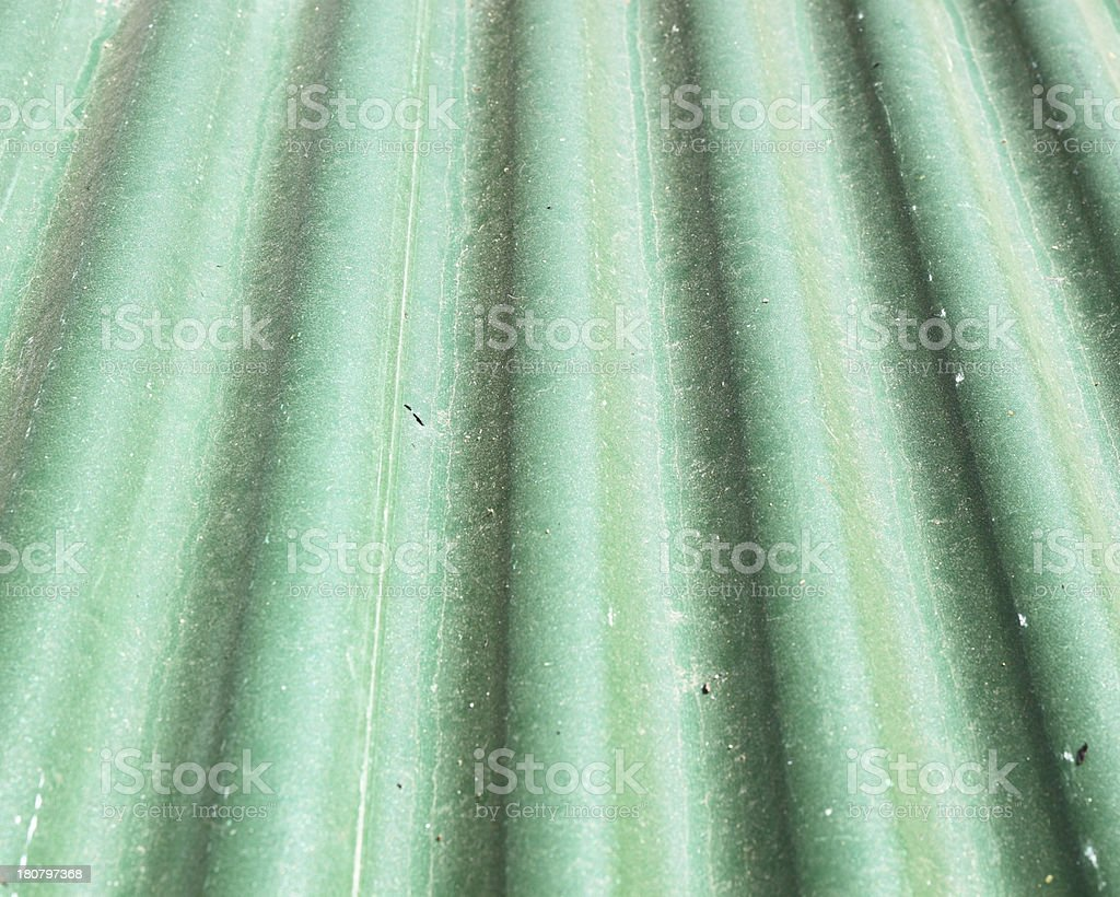 old green metal roof texture royalty-free stock photo