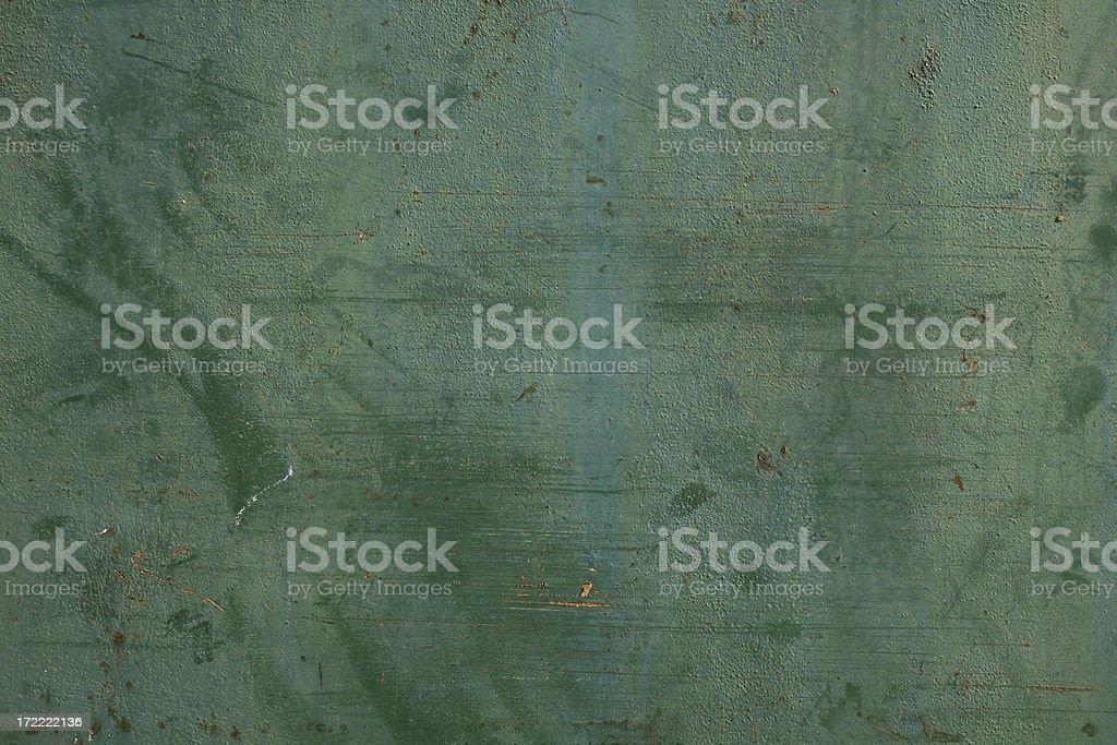 Old Green Metallic Texture stock photo