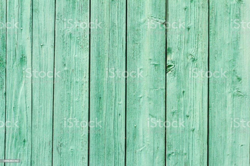 gammal grön målad trävägg - Royaltyfri Abstrakt Bildbanksbilder