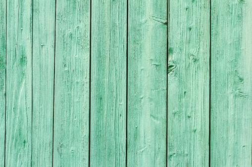Oude Groene Geschilderde Houten Muur Stockfoto en meer beelden van Abstract