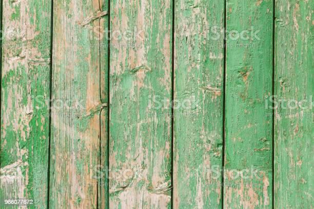 Alte Bemalte Wand Aus Holz Grün Stockfoto und mehr Bilder von Abstrakt