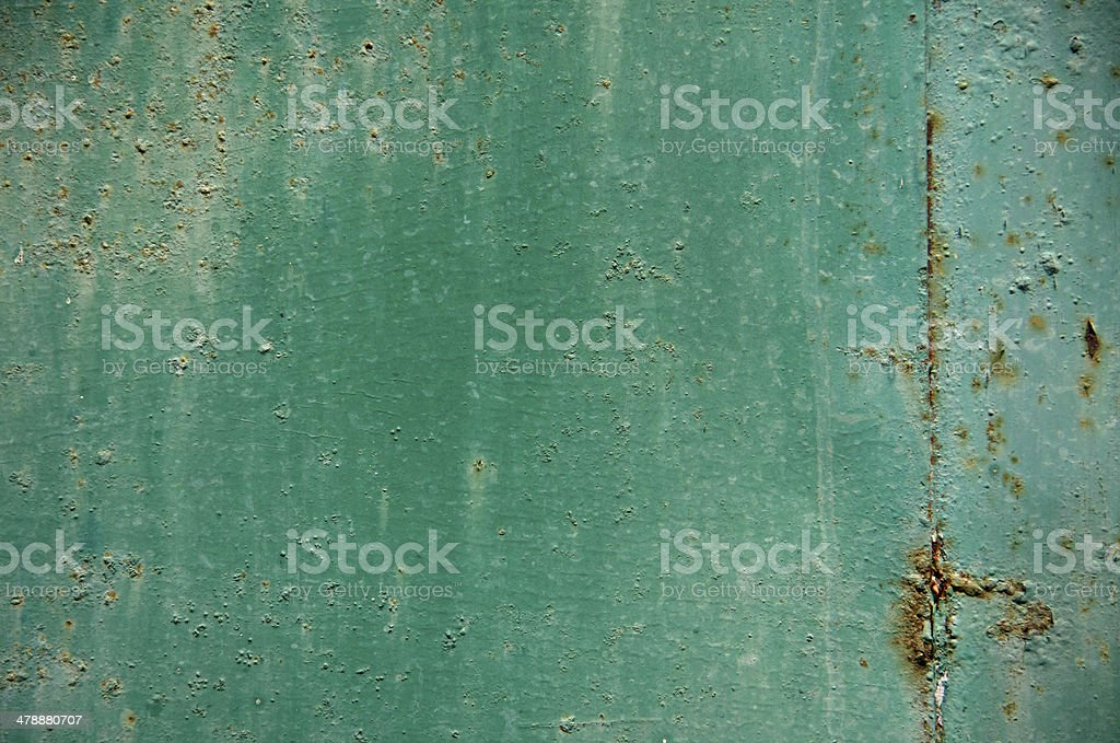 old green plate stock photo