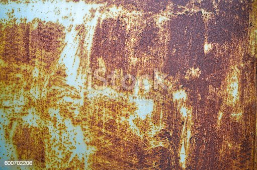 94372741 istock photo Old green turquoise painted wall texture background 600702206