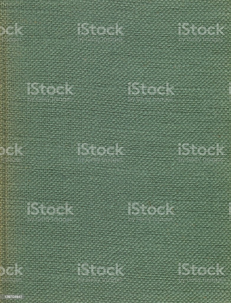 old green woven book cover royalty-free stock photo