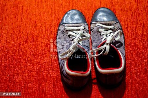 Old Grey Sport Shoes, Fashion, GYM