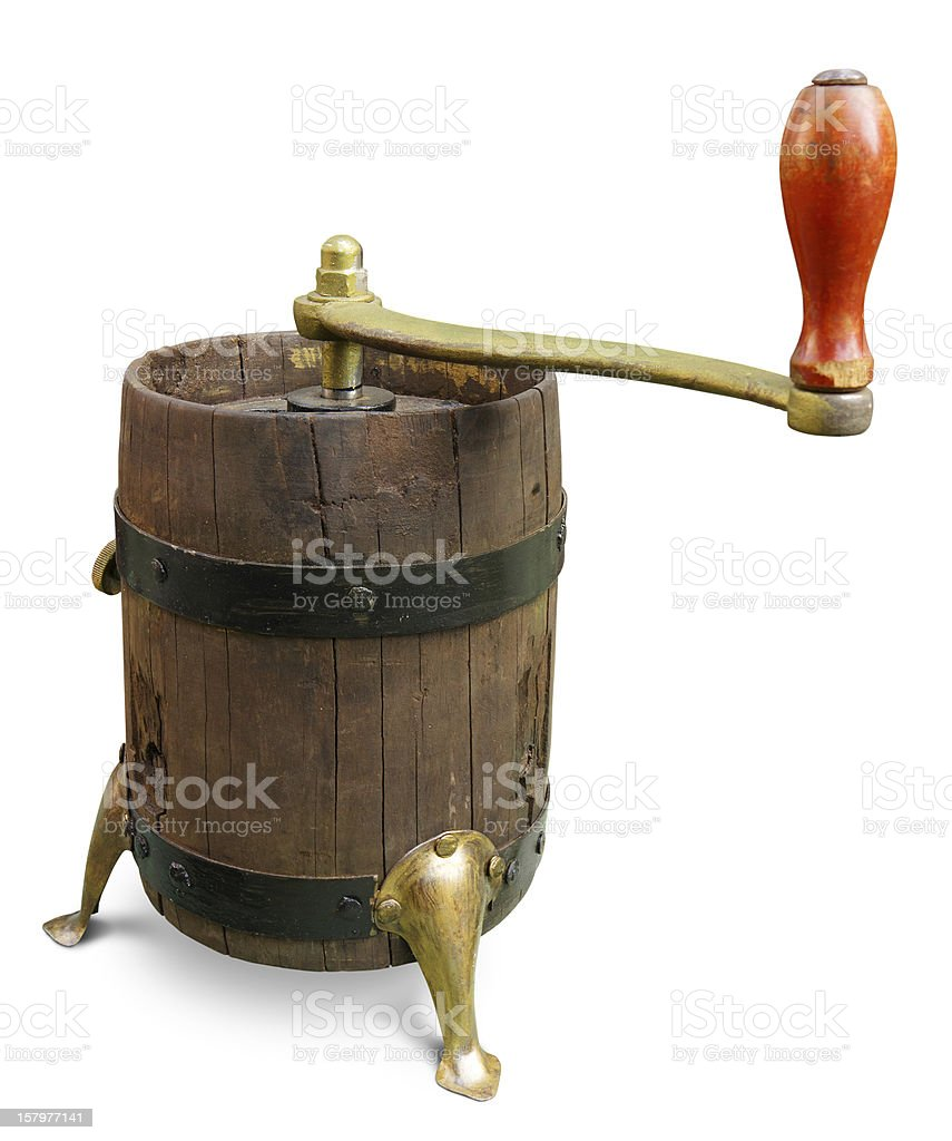 Old grinder royalty-free stock photo