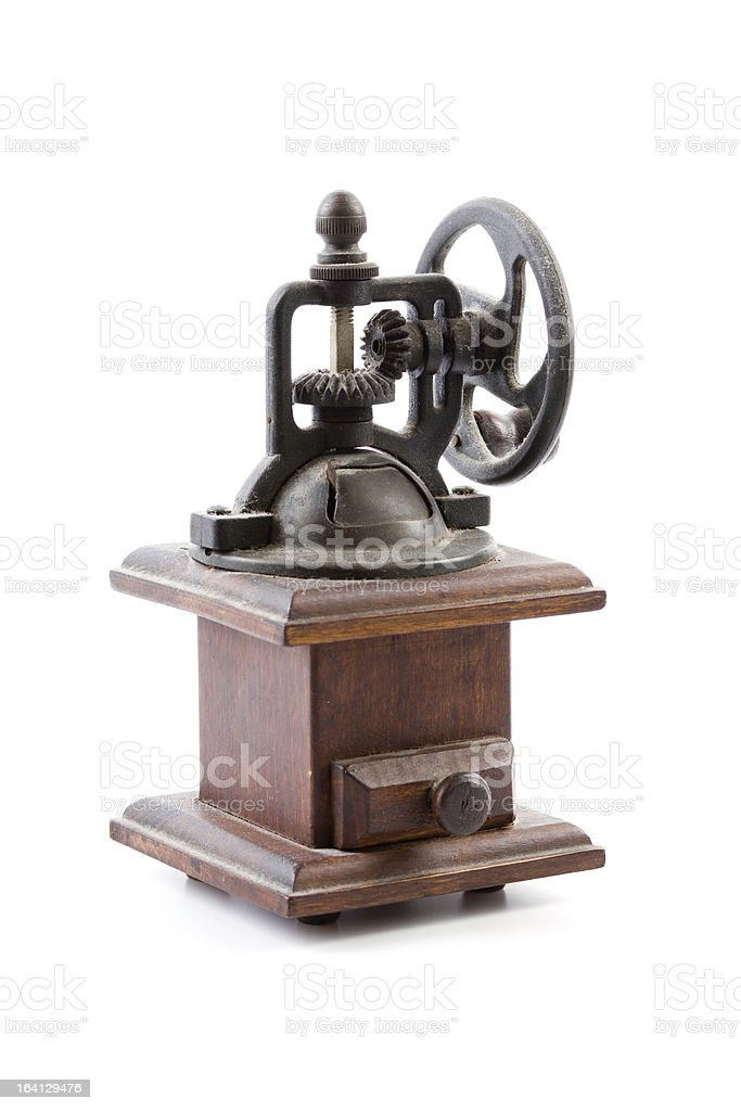 old grinder stock photo