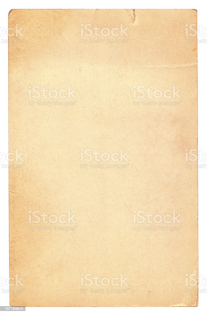 Old Grunge Card royalty-free stock photo