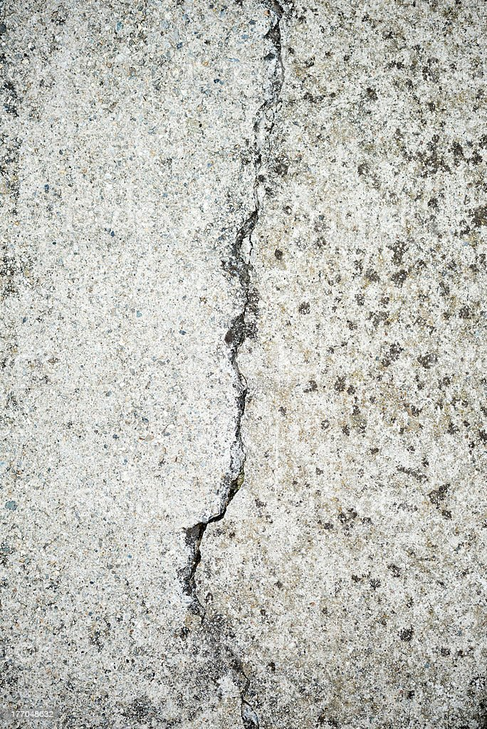 Old grunge concrete cracked wall texture royalty-free stock photo