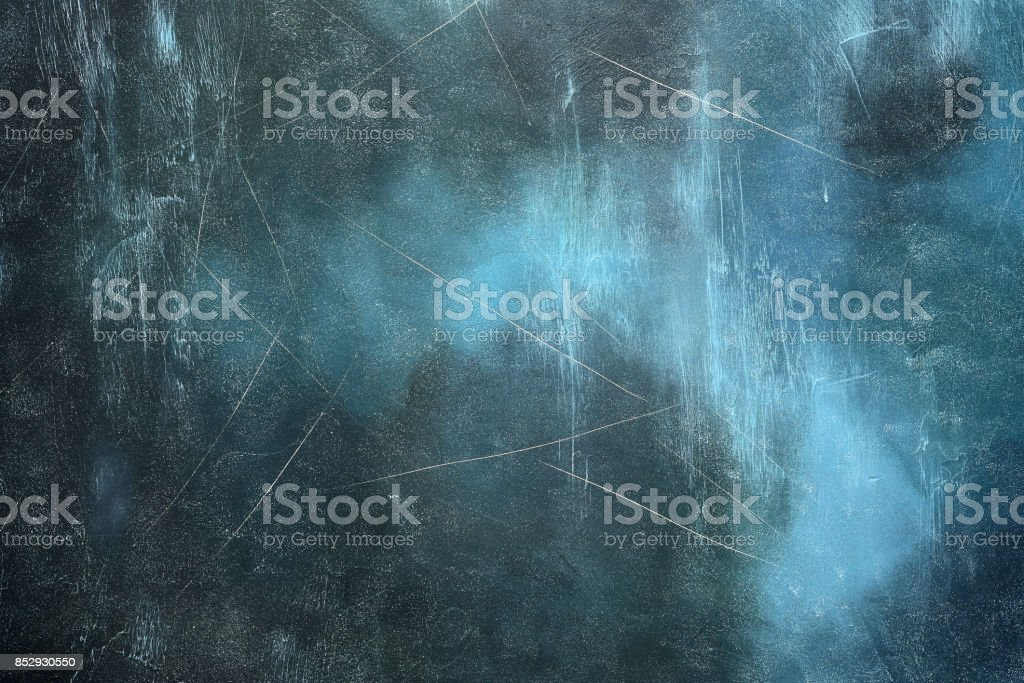 Old grunge dark blue background stock photo