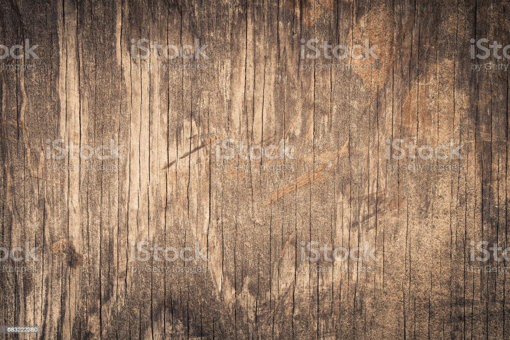 Old grunge dark textured wood background ロイヤリティフリーストックフォト