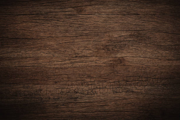 Old grunge dark textured wooden background,The surface of the old brown wood texture stock photo